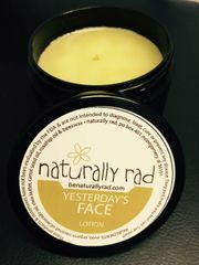 Yesterday's Face Beeswax Lotion