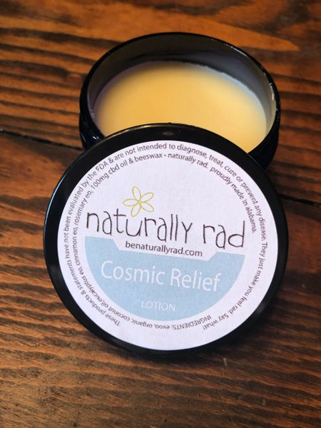 Cosmic Relief CBD Oil Lotion
