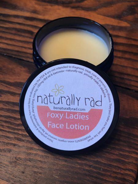 Foxy Ladies Face CBD Oil Lotion