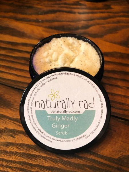 Truly Madly Ginger Scrub
