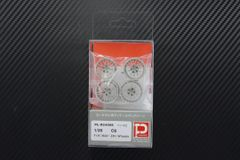 "1/25 C6 F19"" R20"" ZR1 Wheels Set"