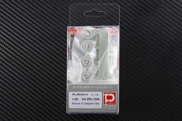 1/25 C6 ZR1/ Z28 Rotors & Calipers Set