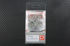 "1/24 570S (Design B) F19"" R20"" Wheels & Tires set"