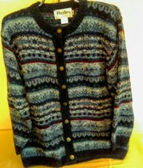 Midnight Cardigan Jacket - Nor' easterly - Harley of Scotland