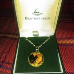 Pendant - Scottish Heathergems by Charles Buyers & Company of Scotland