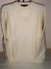 Wool Crew Neck Sweater - by Kintyre Woollens of Scotland