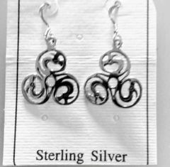 Celtic Earrings North Sea Dragons by PS International