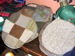 Irish Tweed Patchwork Caps - Hanna Hats of Donegal