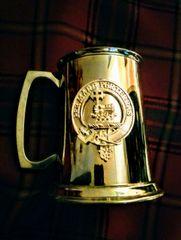 Pewter Tankard Clan MacDonald - Edwin Blyde of Sheffield