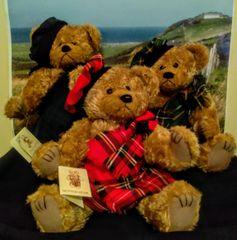 Teddy Bears - Scottish Button MacBear