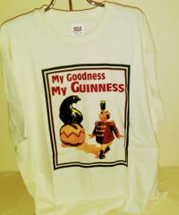 Guinness - Trainer and Seal T-shirt