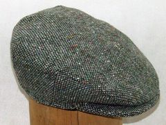 Tweed Touring Cap - Hanna Hats of Donegal