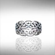 Celtic Knot Sterling Silver Ring - PS International