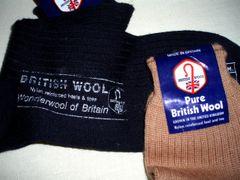 Socks - British Pure Wool