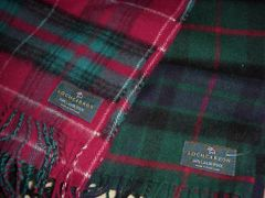 Lambswool Scarves by Lochcarron of Scotland