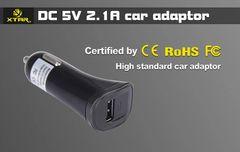 XTAR USB Car Adapter - 2.1amp Output