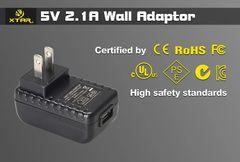XTAR USB Wall Adapter - 2.1amp Output