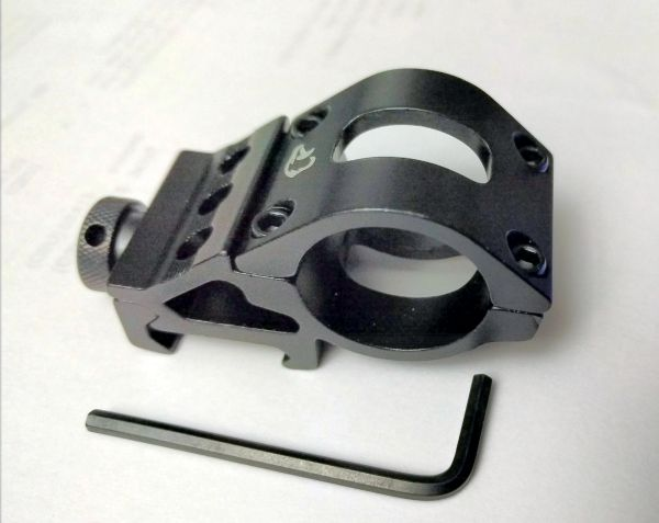 "EagTac Aluminum Rail/Weapon OFFSET Mount 1"" Body"
