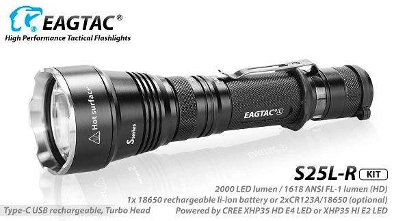 EagTac S25L-R (RECHARGEABLE) *Not MKII*