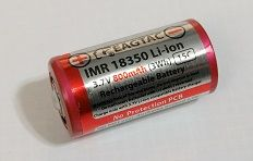 18350 800mAh EagTac IMR LiMn Rechargeable Battery