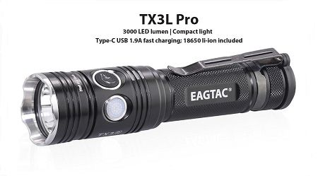 EagTac TX3L Pro (RECHARGEABLE)