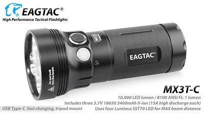 EagTac MX3T-C (RECHARGEABLE)