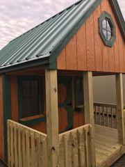 Used Playhouse Cedar/Green