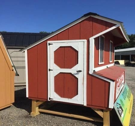 Used 5x8 Chicken Coop
