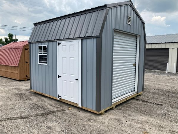 10 x 12 Meatal Rollup Door Old Town Gray / Charcoal