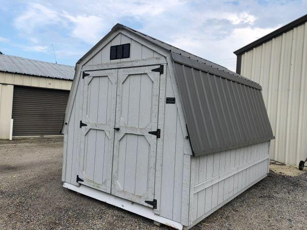 """Used 8 x 12 32"""" Wall Barn"""