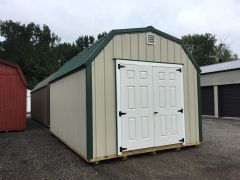 12x16 Metal Lightstone w/ Evergreen Roof