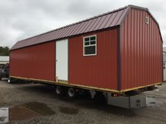 Used/New 14x32 Red Amish Barn