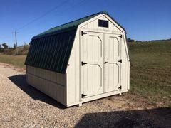 8x12 Wall Barn