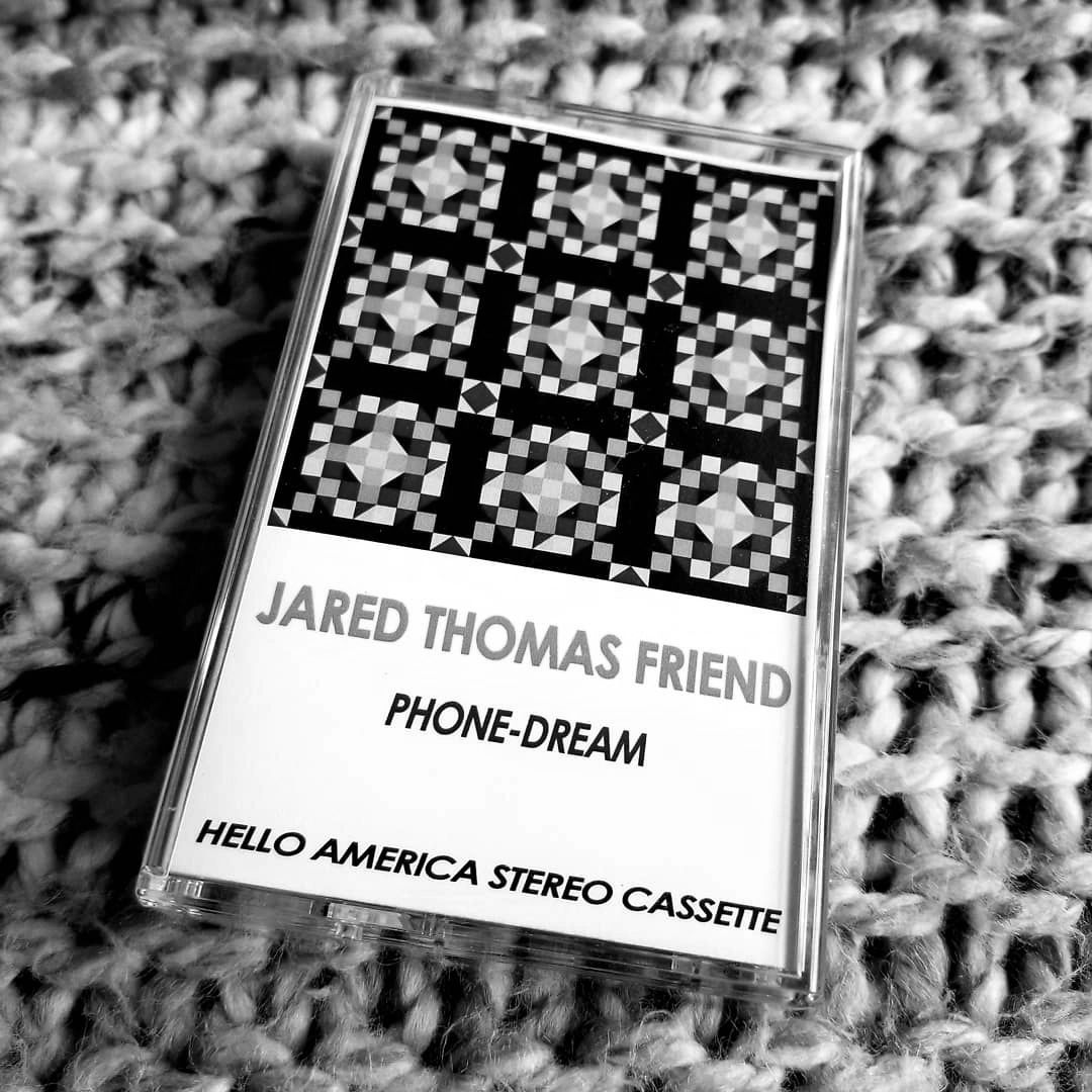 Hello america stereo cassette jared thomas friend poetry