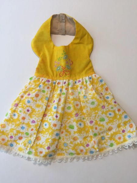 Yellow Daisies Pet Dress - Small