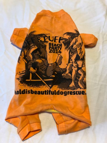 Buff & Puff Party Tee Jammie - Standard Small