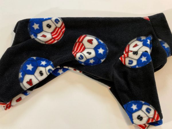 Soccer Pet Jammies - Extra Large