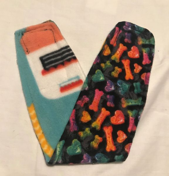 Rainbow Bones & Camper Belly Bands for Male Dogs - Size Small