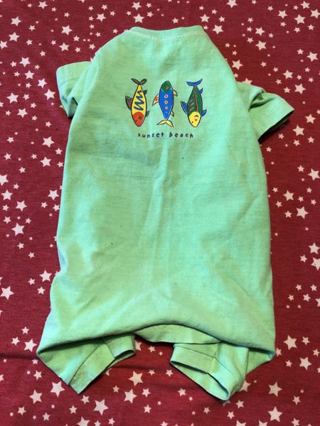 3 Fishes Tee Jammie - Standard Small