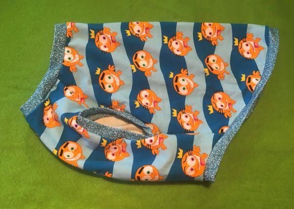 Odd Fish Sleeveless Knit Pet Shirt - ROOMY Medium
