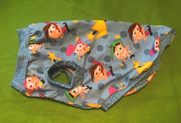 Odd Parents Sleeveless Knit Pet Shirt - ROOMY Small
