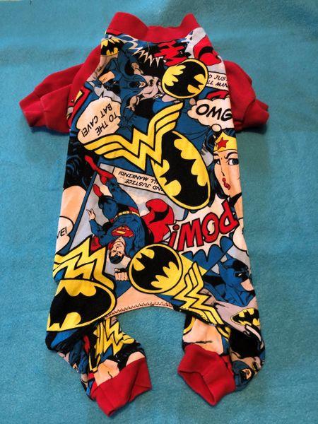 Comic Super Heros Tee Jammie - Standard Medium