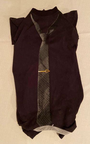Black Tie Tee Jammie - Standard Large