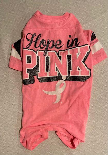 Hope in Pink Tee Jammie - Standard Medium