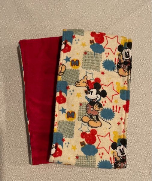 Mickey Mouse Belly Bands for Male Dogs - Size Small