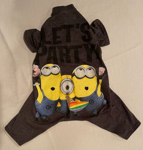 Let's Party Minions Tee Jammie - Standard Medium