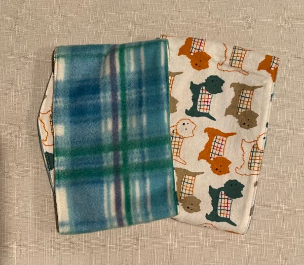 Dogs and Plaid Belly Bands for Male Dogs - Size Small, Medium, Large