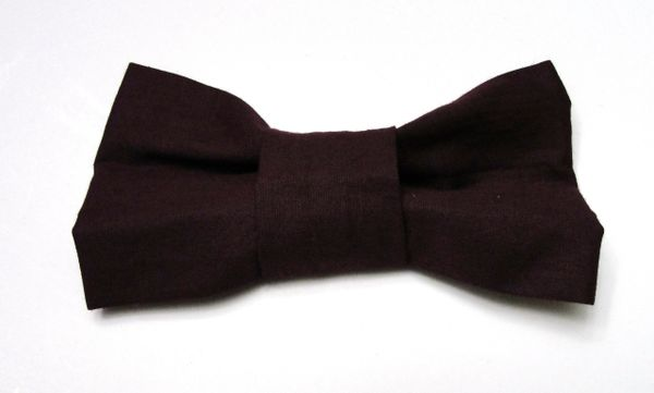 Wine Colored Bow Tie for Pets