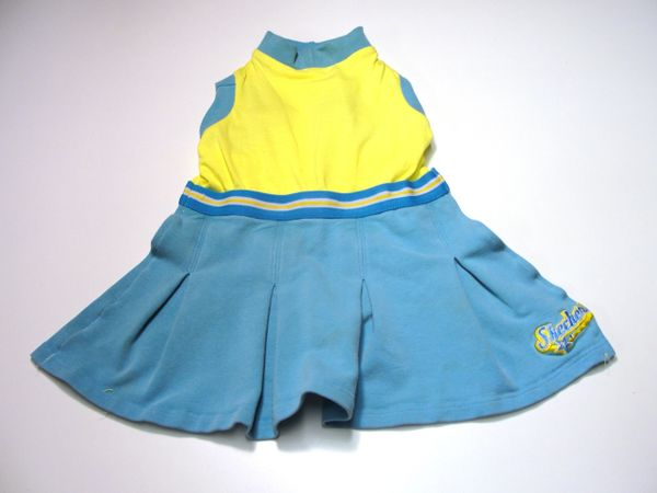 Skechers Yellow and Blue Pet Dress - Medium