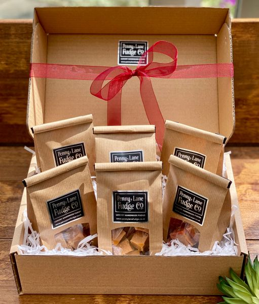 Pick Your Own Selection Of 6 Gift Bags In A Gift Hamper (Gluten Free)